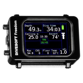 DIVESOFT Freedom Basic Nitrox diving computer